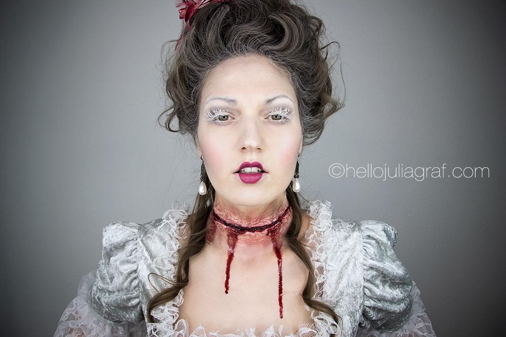 Julia Graf Halloween Series Marie Antoinette