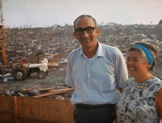 Max Yasgur & wife Miriam.