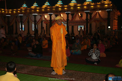 Kripalu Maharaj holds yoga camp for devotees