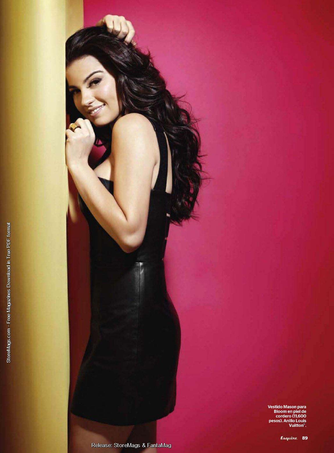 Telenovelas y Revista: Maite Perroni Esquire magazin