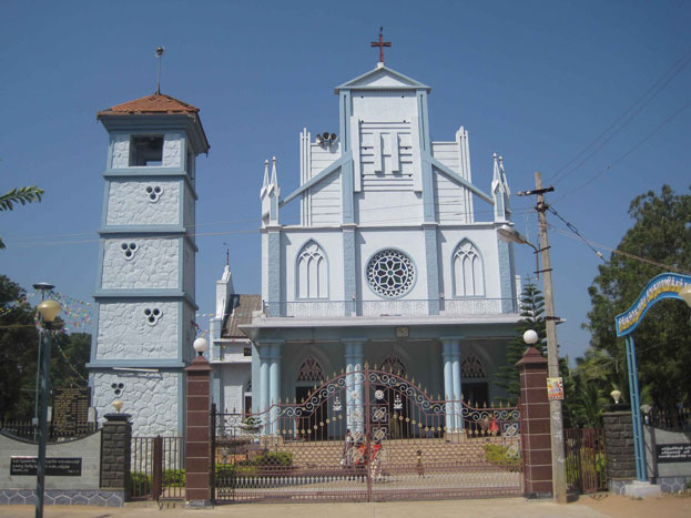 Mylaudy Church Front View