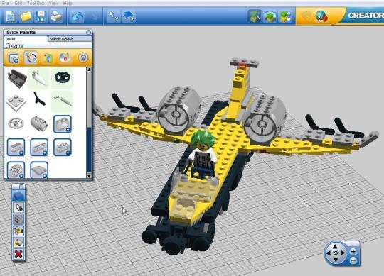 Lego Digital Designer Software Untuk Membuat Lego