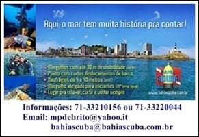 Venha Mergulhar na Bahia de Todos os Santos