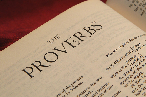 the wisdom of proverbs in the hebrew bible