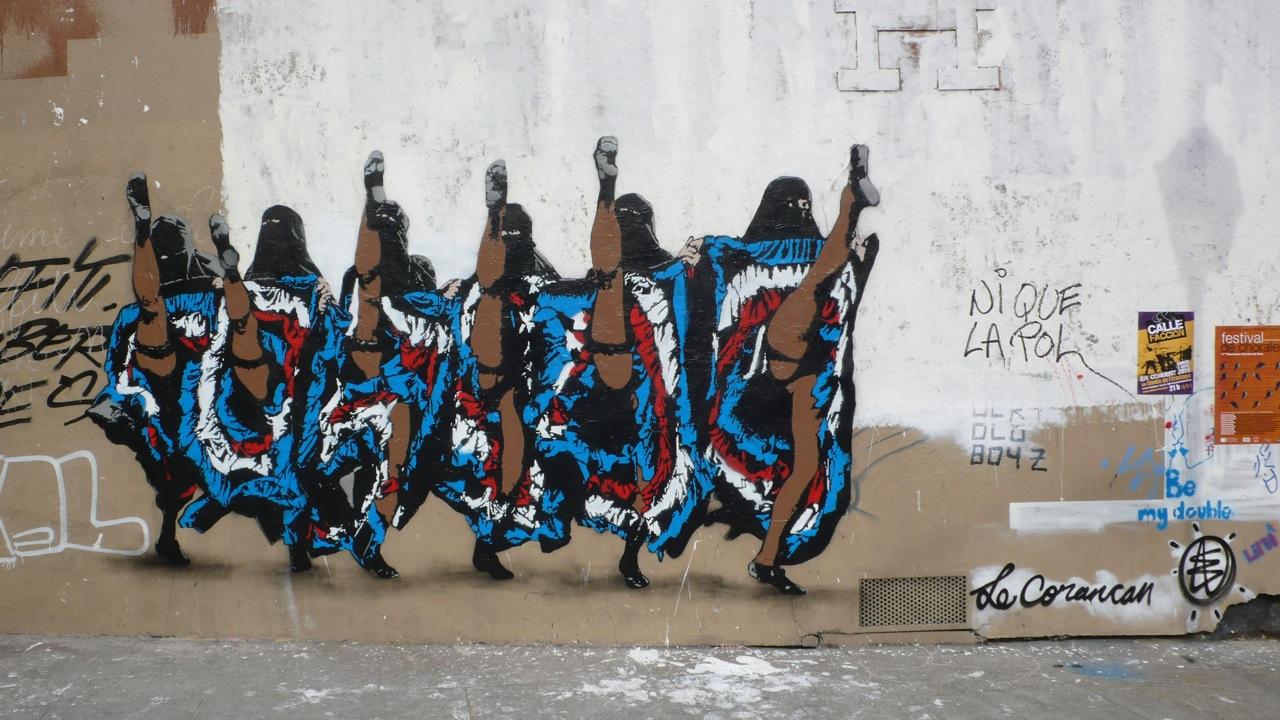 (Wonderful) Street Art - Page 4 Coran%2Bcancan