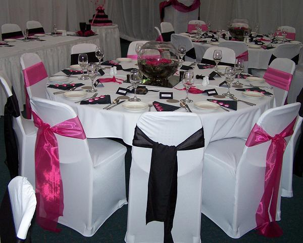 Light Pink Wedding Decorations