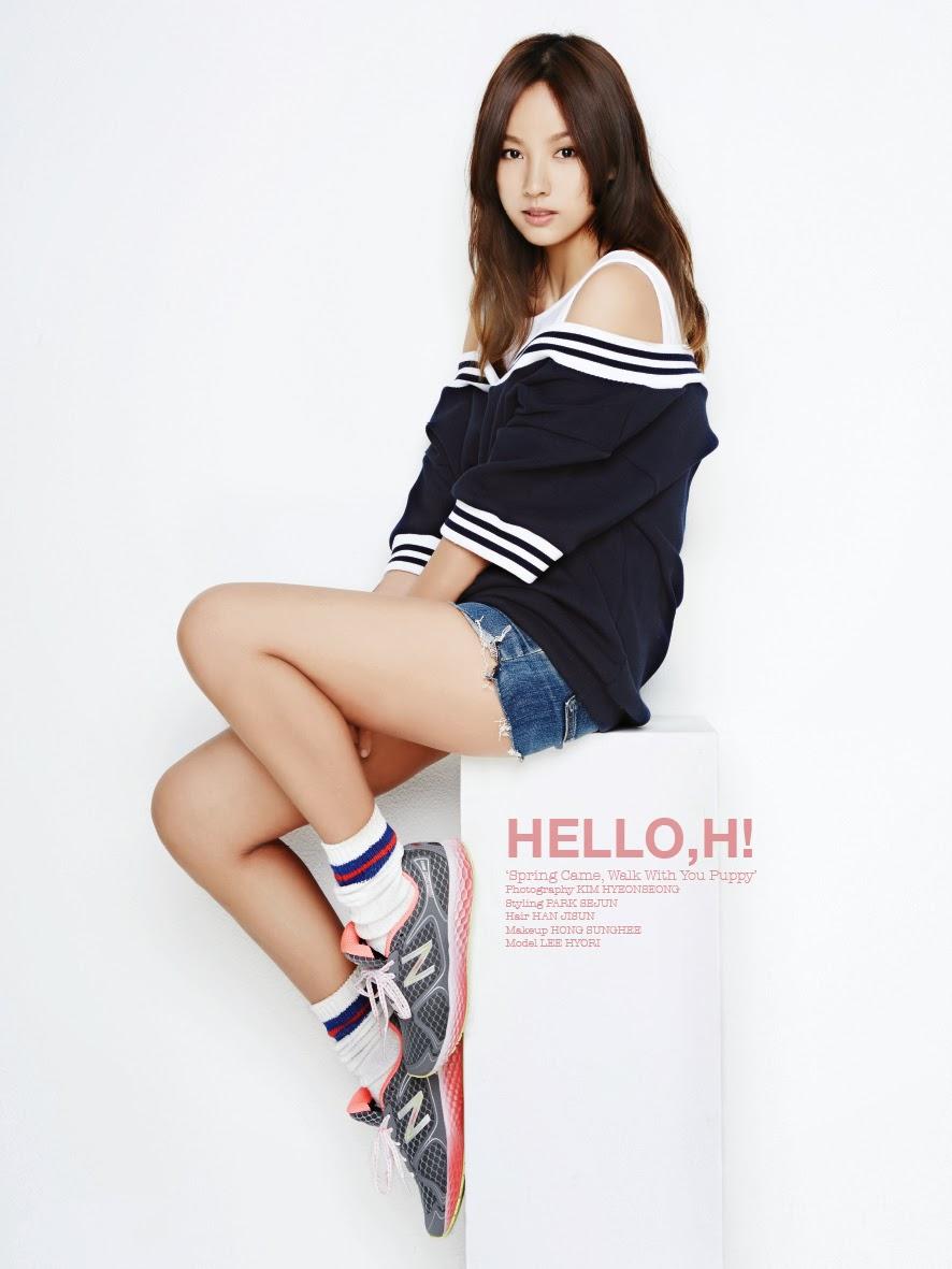 Hyori - Oh Boy! Magazine Vol.45