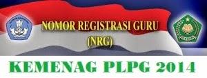 Inilah NRG yang Lulus pada PLPG Tahun 2014 Kemenag