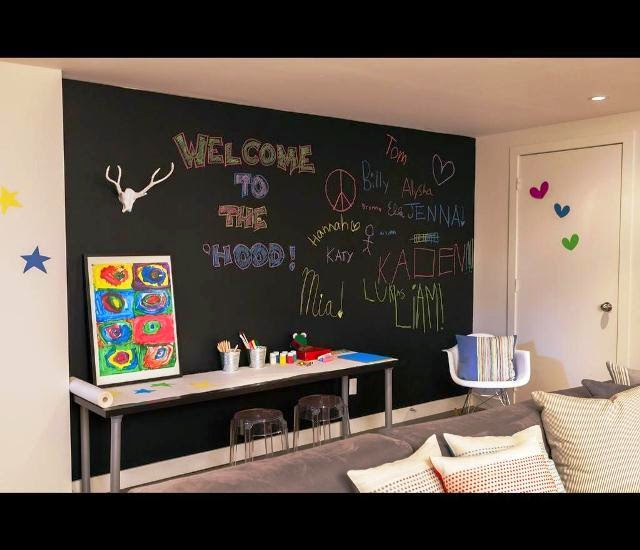 chalkboard paint ideas for playrooms