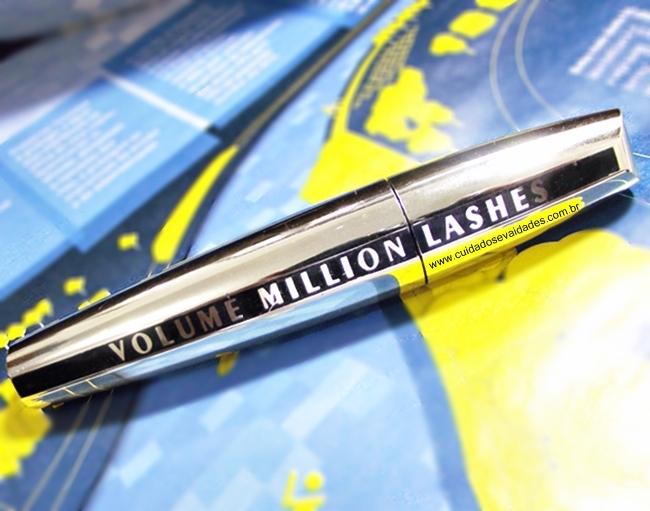 Testei:  Máscara de Volume Million Lashes - L'Oréal Paris