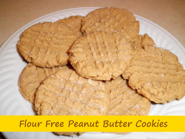 ... Set, Create!!: No Flour Peanut Butter Cookies + Printable Recipe Card
