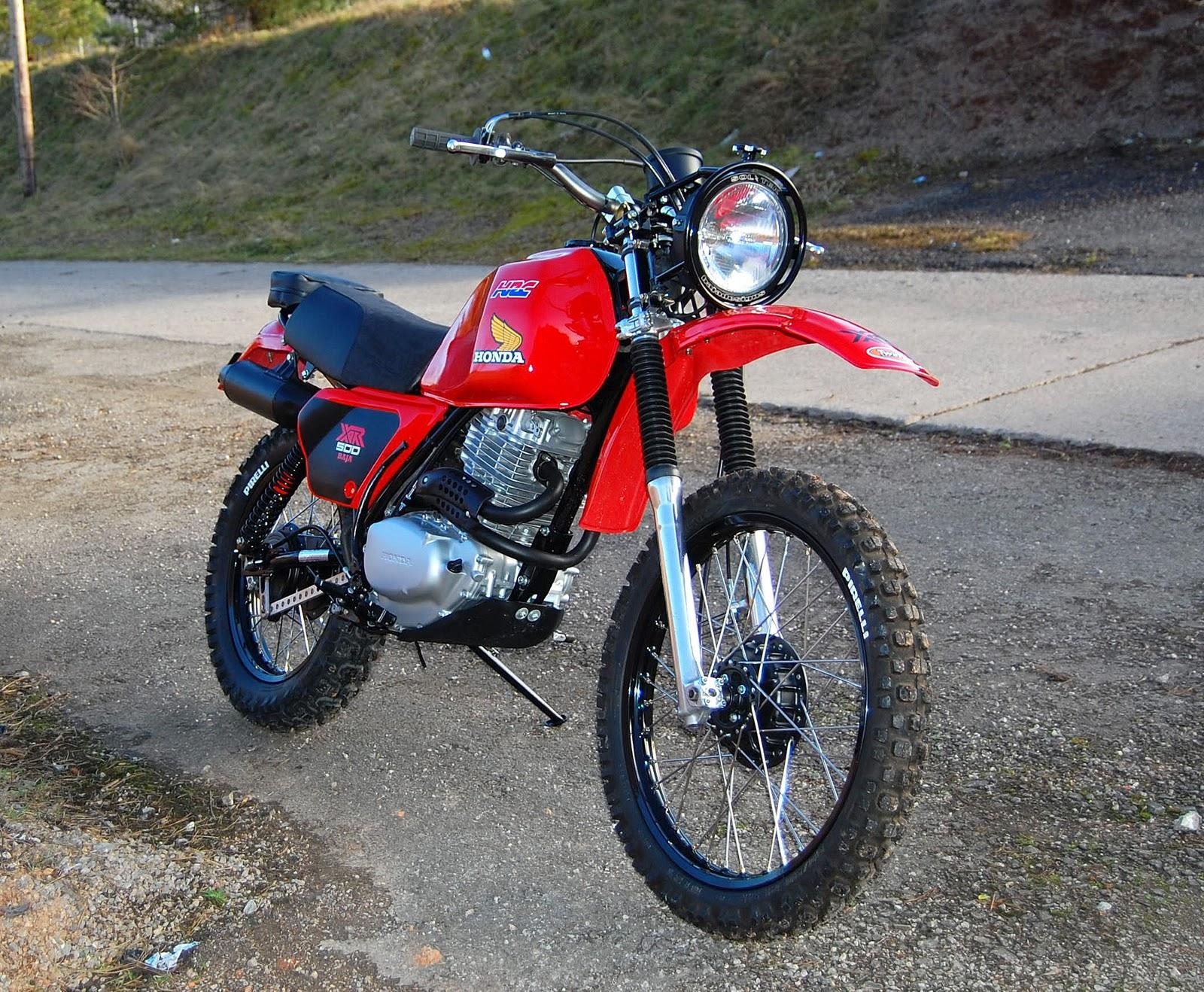 Dsc on Honda Xr500
