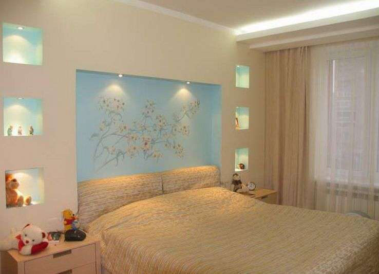 Diy how to design small bedroom china granite for Small room no windows