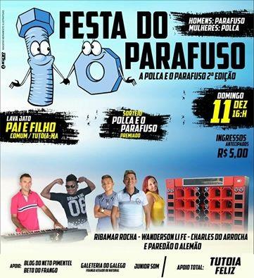 FESTA DO PARAFUSO 2ª EDIÇÃO