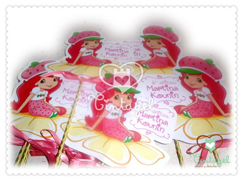 Manualidades de frutillita para cumpleaños - Imagui