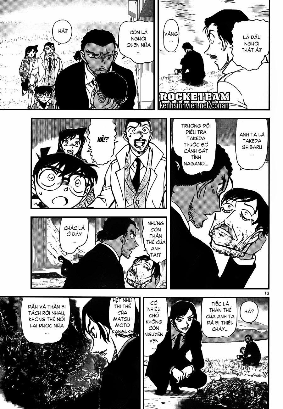 Thám Tử Lừng Danh Conan - Chapter 913 - Pic 13