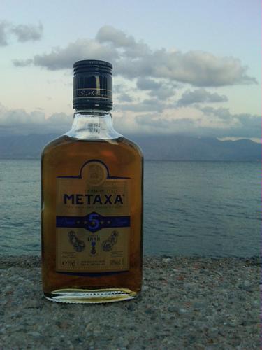 Spróbuj pięciogwiazdkowej greckiej brandy Metaxa,pięciogwiazdkowa grecka brandy Metaxa