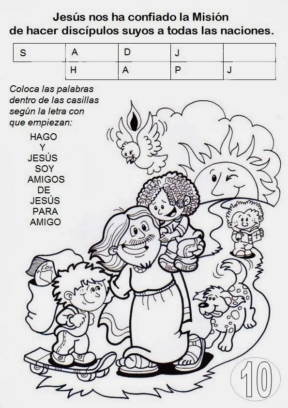 EDUCACIÓN RELIGIOSA: DECÁLOGO MISIONERO - INFANCIA MISIONERA