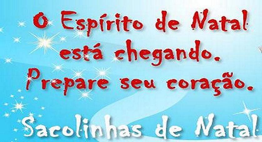 SACOLAS DE NATAL 2012