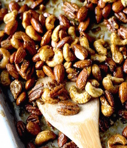thai spiced nuts recipe by seasonwithspice.com