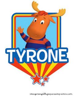 Tyrone de Backyardigans para imprimir