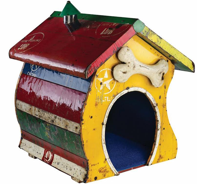 Aussie Mum Gardening From Scrap: In The Dog House - Dog Kennel