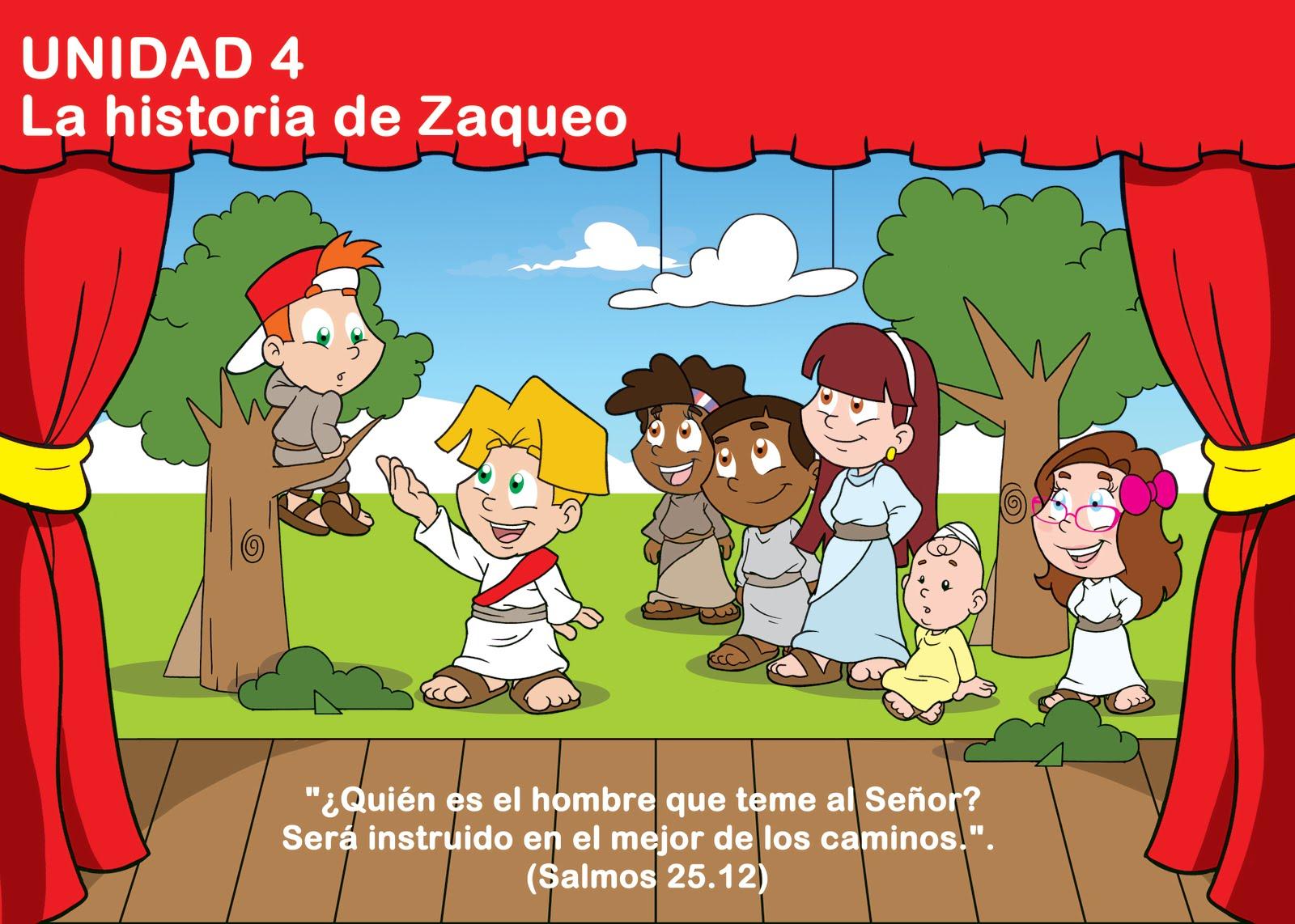 EBI Paraguay Unidad 4 La historia de Zaqueo