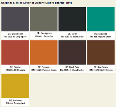 Mad for mid century eichler mid century exterior paint colors for Modern exterior paint colors