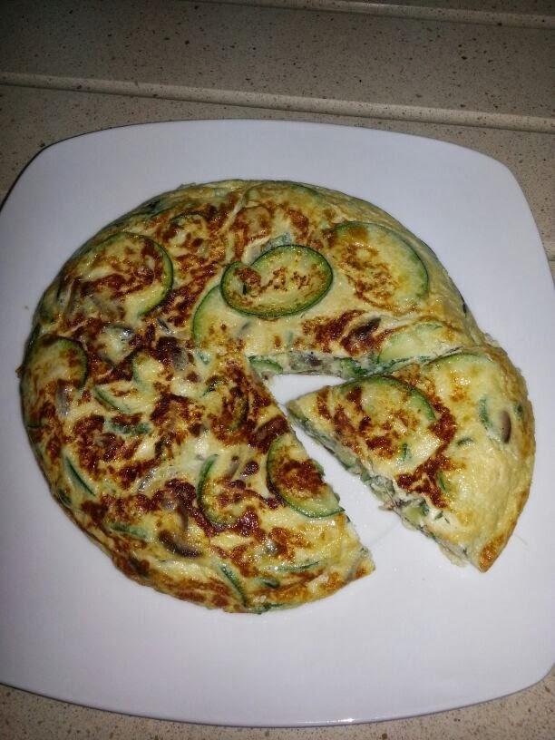 La cocina de mi pepe tortilla de calabacin y cebolla - Tortilla de calabacin y cebolla ...