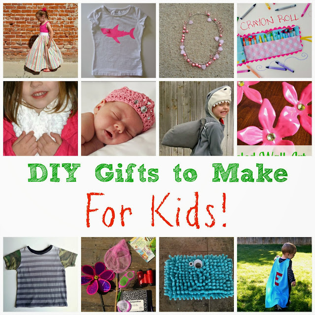 DIY cheap and easy gifts to make for kids