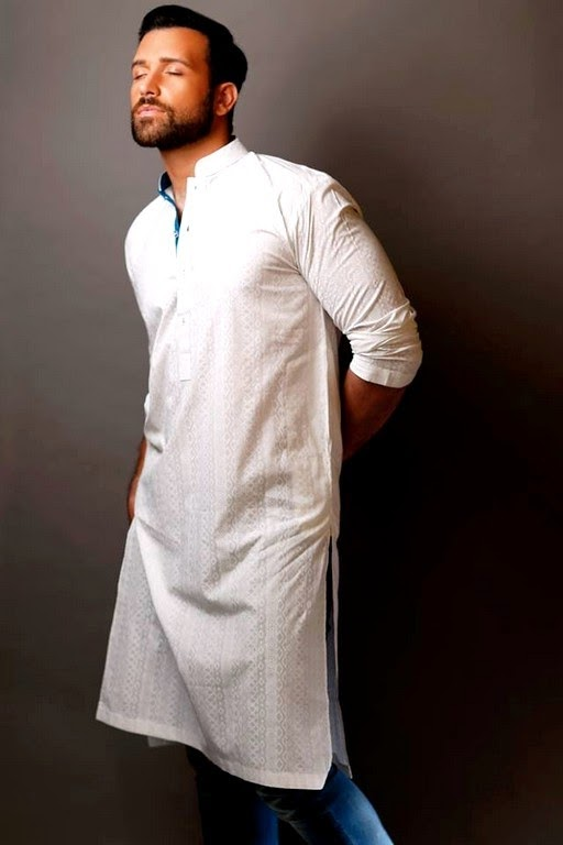 Men Kurta Collection Designed By Hadiqa Kiani