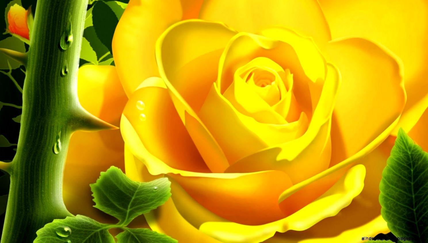 Blue yellow flower wallpaper hd 1080p all hd wallpapers view original size mightylinksfo