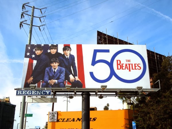 The Beatles 50 billboard