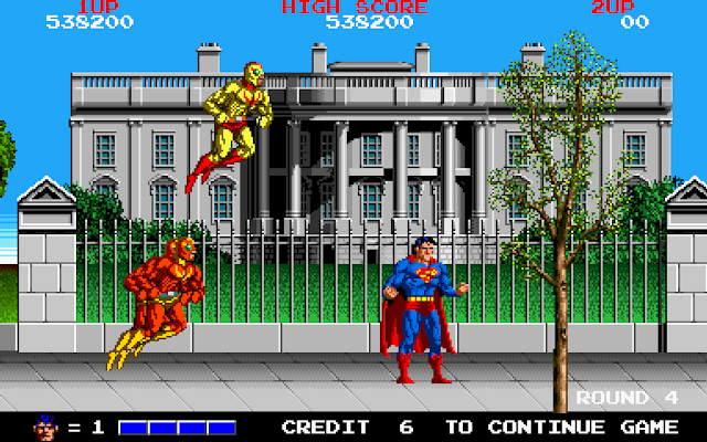 Superman coin op - White House