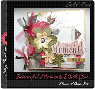 beautiful moments with you mini album by artsy albums traci penrod