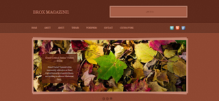 Brox Magazine Blogger Template Is a Wordpress To Blogger Converted Blogger Template