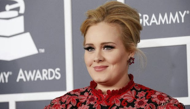Adele Menangkan Best Song Written di Ajang Grammy