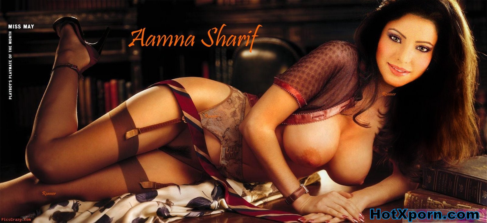 Nude Hot Bollywood Actress Amna Sharif Sleeping Nude Showing her hairy Pussy And Boobs