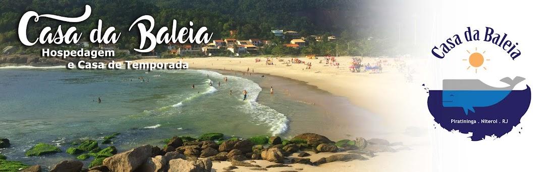 Casa da Baleia Hospedagem Niterói RJ