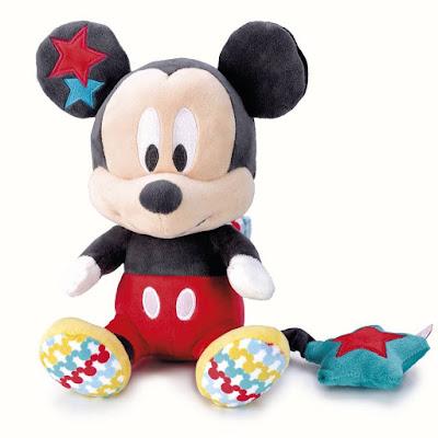 TOYS : JUGUETES - DISNEY BABY  Peluche Musical 24 cm Mickey Mouse  Producto Oficial 2016 | Famosa 760013414A  Comprar en Amazon España