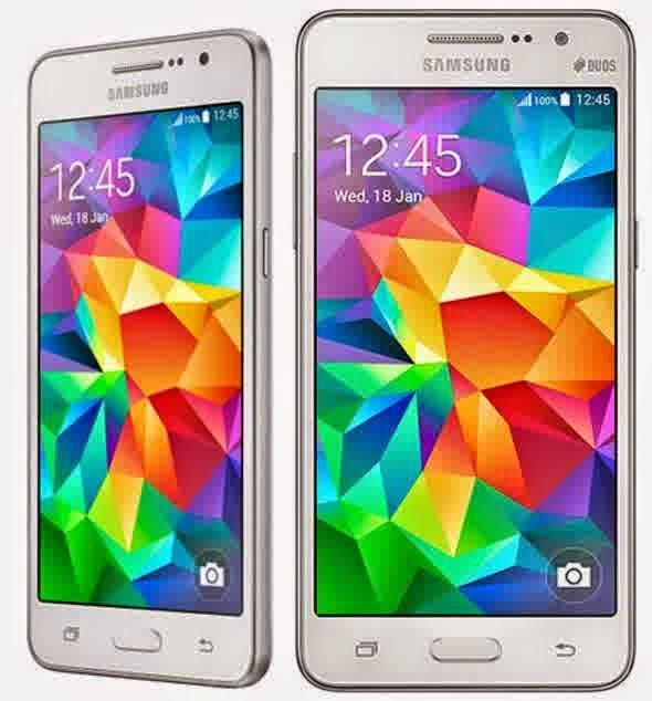 Spesifikasi dan Harga Samsung Galaxy Grand Prime
