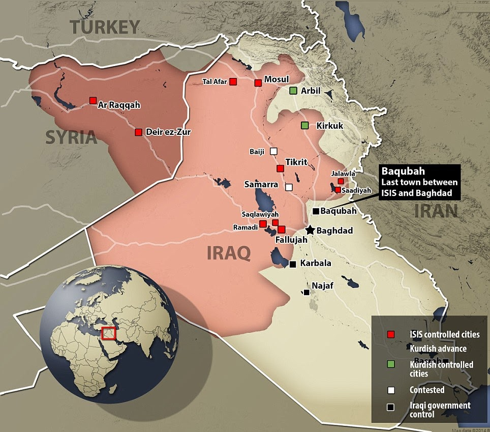 What does all this chaos mean for our investment... Iraq+ISIS+control+6-14