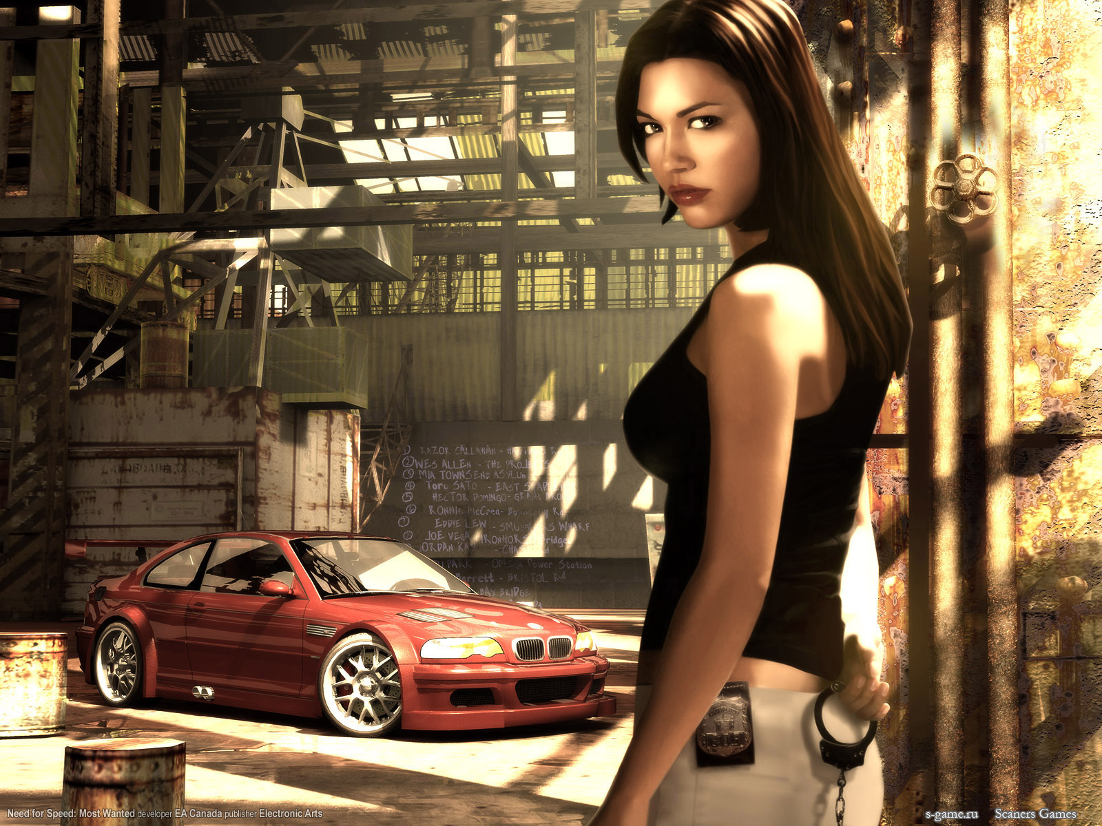 click to see world: need for speed most wanted wallpaper
