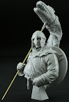"Review of MJ Miniatures ""The Battle of Hastings"" bust in 1/10th review and construction"