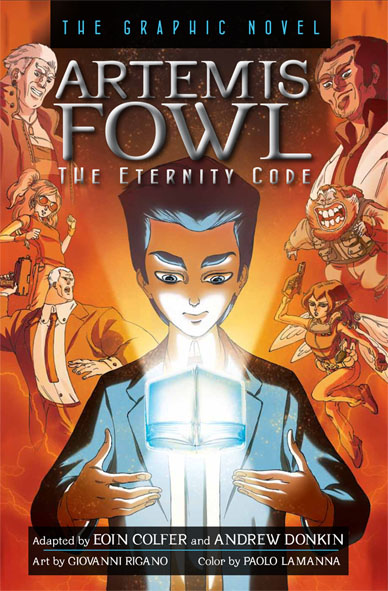 Les graphic novels Artemis_Fowl%233_the_eternity_code_graphic_novel_cover_web