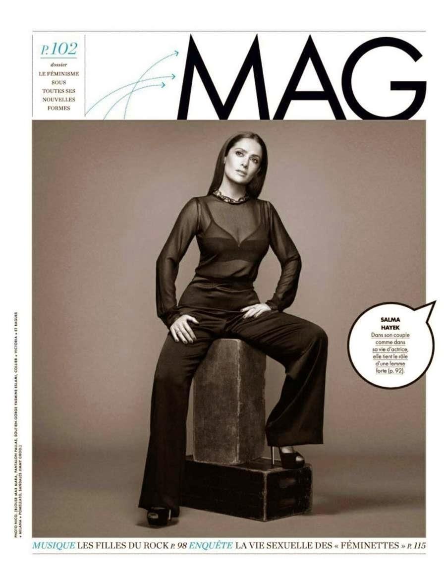 Salma Hayek: Elle France 2015