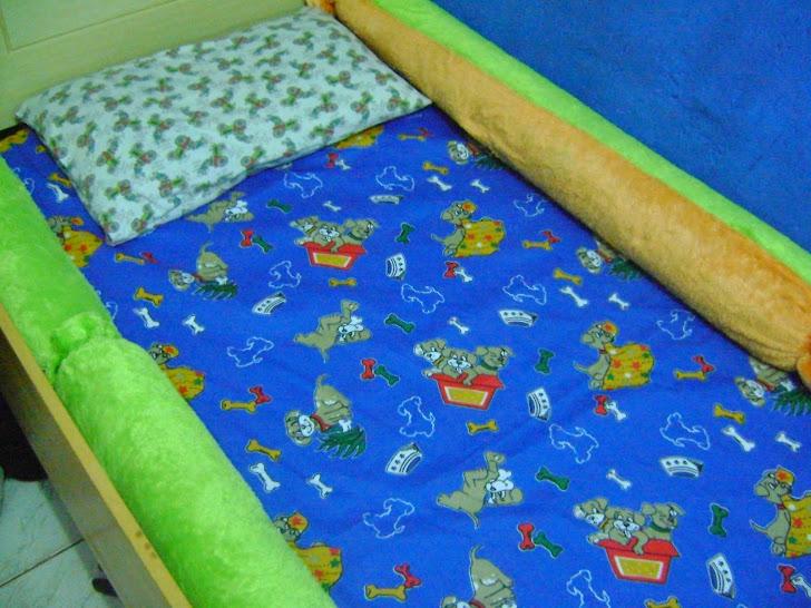 Rolo para lateral de cama