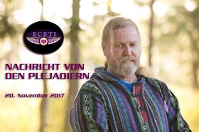 Nachricht von den Plejadiern - 20.11.2017