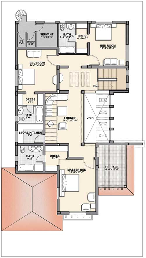 One Kanal House Plan One Kanal House Plan Info 360 1
