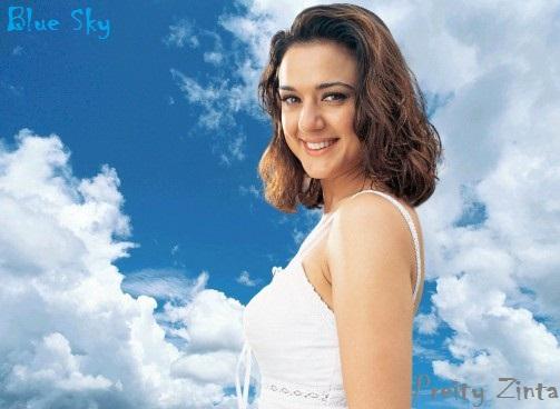Profil Prety Zinta Haris - Gaya rambut pendek preity zinta